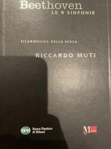 6CD【自主制作】MUSICOM ムーティ/スカラ・フィル★ベートーヴェン:交響曲全集