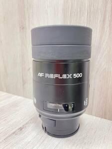ミノルタ AF REFLEX500 レンズ