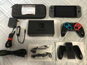 ニンテンドースイッチ本体 グレー(第2世代) 箱なし・付属品完備 他おまけ有り Nintendo Switch