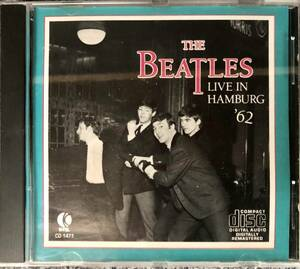 ◆◇中古:【CD】The Beatles/ビートルズ【Live in HAMBURG'62/ライブ・イン・ハンブルグ'62】
