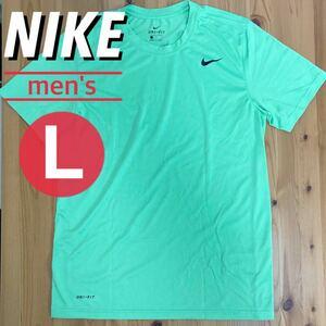 NIKE ナイキ ドライ Tシャツ メンズ L グリーン スポーツ トレーニング