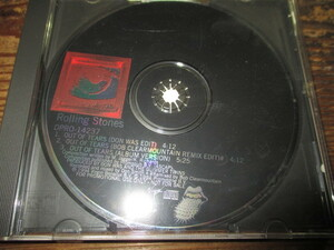 rolling stones / out of tears (RARE!!USシングルCD3tracks送料込み!!)