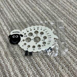HIYAHIYA 羊のニードルゲージ 新品 Sheep Needle Gauge