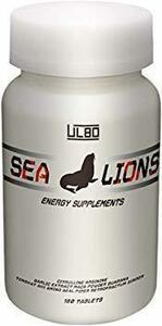 1つ限り!1個 ULBO SEA LIONS シトルリン アルギニン ガラナ マカ 厳選成分10種類高配合 180粒