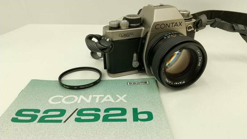 CONTAX S2 Carl Zeiss Planar 1.4/50 T* 60周年記念モデル マニュアルフォーカス コンタックス
