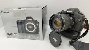 Canon キャノン EOS 5D DIGITAL ZOOM LENS EF 28-135mm 1:3.5-5.6 IS デジタル一眼レフカメラ