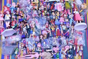 エヴァンゲリオン ときメモ プリキュア ハルヒ ラブひな ストⅡ ガンダム など 美少女フィギュア 人形 玩具 まとめて 100体