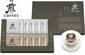 12袋 (x 1) 【Amazon.co.jp限定】 AGF 煎 レギュラー・コーヒー プレミアムドリップ アソート 12袋