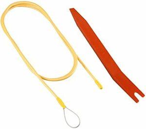 2 配線ガイドx1+内張りはがしx1 配線ガイド(フレックスタイプ) 全長約1.2m & 内張りはがし ポリプロピレン製
