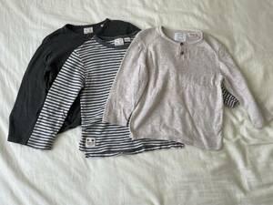 ZARA baby boy ザラ 長袖 トップス 2-3years 3枚セット 98cm 95 100 KNIT WEAR ニット セーター 男の子 子供服