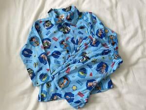 トイストーリー4 パジャマ 110 ナイトウェア ボタン 子供服 長袖 長ズボン 中古