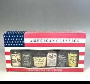 アメリカンクラシックス ウイスキー ミニボトル50mL 6本