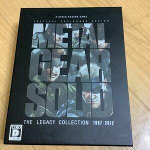メタルギアソリッド レガシーコレクション PS3ソフト
