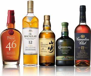 山崎12年入 世界の5大ウイスキー飲み比べセット
