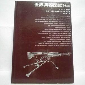 世界兵器図鑑Gun アメリカ編 岩堂憲人 国際出版株式会社 昭和48年