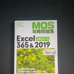 MOS 攻略問題集 Excel 365&2019 エキスパート対策テキスト&問題集 2021年5月24日 初版第1刷発行版 日経BP