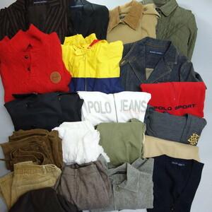 1円 20点おまとめ 卸売 ラルフローレン レディース衣類 コート ジャケット シャツ スカート等 ポニー デニム