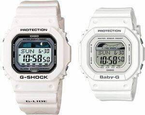 [カシオ] 腕時計 ジーショック×ベビージー ペアウォッチ G-LIDE GLX-5600-7JF / BLX-560-7JF