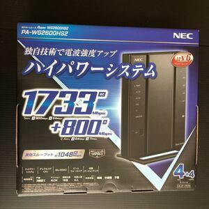 新品未使用 NEC PA WG2600HS2