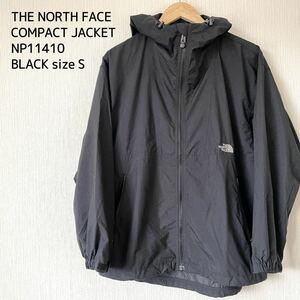 THE NORTH FACE ザノースフェイス コンパクトジャケット ナイロンジャケット マウンテンパーカー S キャンプ 登山