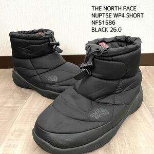 THE NORTH FACE ザノースフェイス NUPTSE WP4SHORT ヌプシブーティー ウォータープルーフ 冬靴 防寒