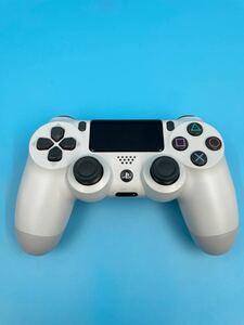 【極美品】PS4コントローラ グレイシャーホワイト CUH-ZCT2J13 後期 動作確認済み