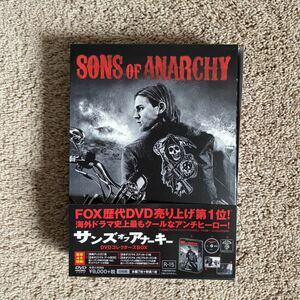 サンズオブアナーキー sons of anarchy DVD コレクターズBOX season1 episode 1-13+特典