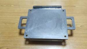 調理用9ミリ厚鉄板 カセットコンロ/バーベキュー/焼肉/クレープ/お好み焼き/焼きそば/BBQ/テント/イカ焼き//薪//パンケーキ