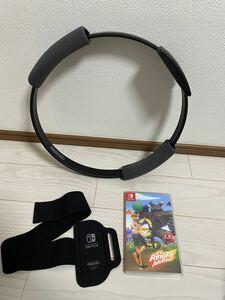 リングフィットアドベンチャー 付属品つき箱なし 美品Nintendo Switch ニンテンドースイッチ 任天堂スイッチ