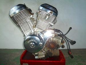 スティード400・NC26★エンジン本体・クランキングOK・NC25E★H2G-56