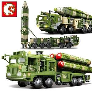 【送料無料】LEGO互換 DF21 対艦ミサイル