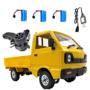 【送料無料】wpl 1 D12ためスズキキャリー1/10 シミュレーションドリフトトラック登山車ledライトrcカーのおもちゃ男の子キッズギフト