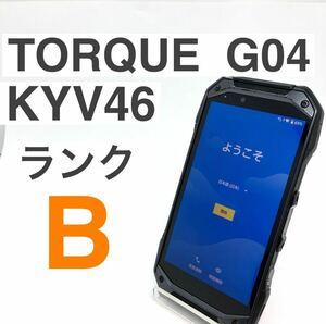 京セラ TORQUE G04 KYV46 レッド SIMロック解除済み 64GB 判定○ SIMフリー アウトドア キャンプ 防水 Y20