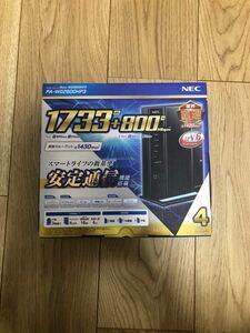 NEC Aterm Wi-Fiホームルータ PA-WG2600HP3 無線ルーター