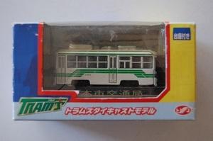 I トラムズ ダイキャストモデル 熊本市交通局 台座付き 路面電車シリーズ