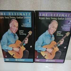 PAUL MEHLING/Gypsy Jazz Swing Guitar Lesson 輸入盤教則DVD 2枚組 ポールミーリング