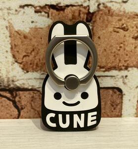 CUNE スマホリング 新品未使用 キューン iPhone バンカーリング かわいい 薄型 Supreme