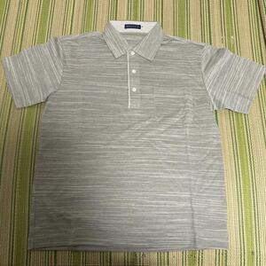 ポロシャツ Mサイズ メンズ 半袖 男性 ボーダー 新品未使用 カットソー 夏 綿 MACCHIO