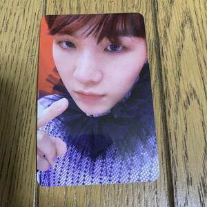 トレカ BTS 防弾少年団 SUGA フォトカード トレーディングカード ANSWER アンサー 韓国