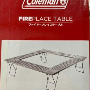 コールマン (Coleman)ファイアープレーステーブル ) テーブル ファイヤーディスク 焚き火台