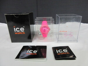 10J169BC◆icewatch アイスウォッチ KARIANG クォーツ ピンク シリコンバンド 腕時計◆未使用品