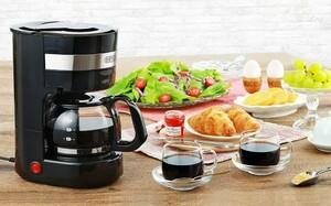 ドリップ コーヒーメーカー 保温機能付き 新品