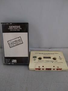 C1312 カセットテープ Genesis /Three Side Live  ジェネシスの商品画像