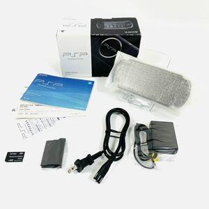 【美品】SONY PSP プレイステーション ポータブル ピアノ ブラック PSP-3000PB 4GB SDカード付