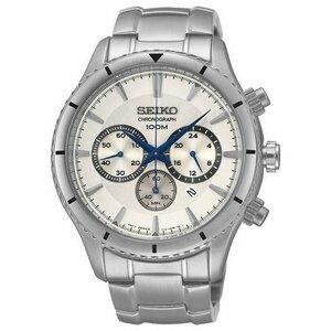 【セーム革無料進呈】SEIKO逆輸入 セイコー腕時計 メンズ腕時計 セイコークロノグラフ 海外モデル 3針アナログクォーツ10気圧防水 SRW033P1