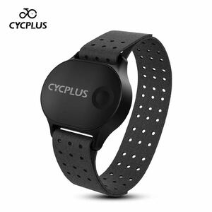 CYCPLUS H1 rechargeable Heart rate monitor arm wrist Bluetooth ANT+ is - tray to sensor heart rate meter