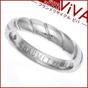 ショーメ トルサード リング 指輪 095903 Pt950 プラチナ 3.5mm 12号 美品 新品仕上げ済み ゆうパケット対応可能 送料300円