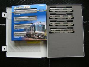 トミックス TOMIX JR西日本 223 2000系 新快速 基本+増結 8両セット【鉄道模型】新品同様品