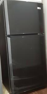 中古品 1人暮し用ハイアール小型冷蔵庫 JR-N106E ブラック 2ドア