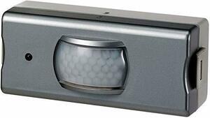 新品グレー 増設 センサー送信機 ELPA ワイヤレスチャイムセンサー送信器 グレー 21×15×5cm EPCM9